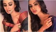 Gold actress Mouni Roy is sizzling in these two stills of her new film's Bengali character
