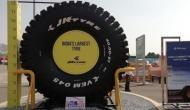 Auto Expo 2018: देखिए हाथी के बराबर वजनी देश का सबसे बड़ा टायर
