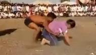 दंगल फिल्म की तर्ज पर इस लड़की ने चटाई लड़के को धूल, वीडियो हुआ वायरल