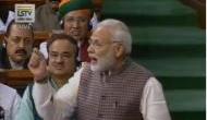 लोकसभा में PM मोदी के भाषण के दौरान जोरदार नारेबाजी, 'जुमलेबाजी बंद करो'