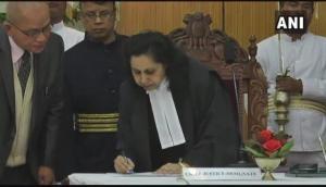 Abhilasha Kumari sworn-in as Manipur HC Chief Justice