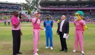Johannesburg ODI: India win toss, opt to bat first