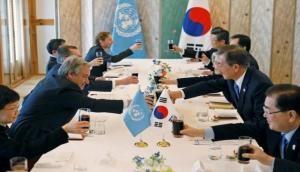 UN Secretary-General meets N Korean delegation