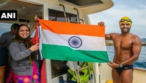 Rohan More becomes first Asian to swim across Ocean Seven