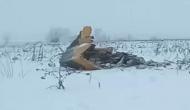 रूस: उड़ान भरने के 7 मिनट बाद विमान के क्रैश होने से 71 की मौत, बर्फाले मैदान मे मिला मलबा