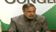 After Pranab Mukherjee's RSS speech, Anand Sharma said Congress has no doubt on his 'clarity' and his 'commitment to the idea of India'