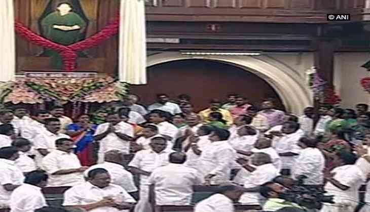 DMK moves Madras HC against Jayalalithaa's portrait in state Assembly