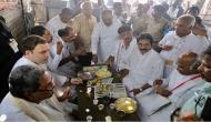 Rahul takes 'Pakoda' break during 'Jana Aashirwada Yatra' in Karnataka