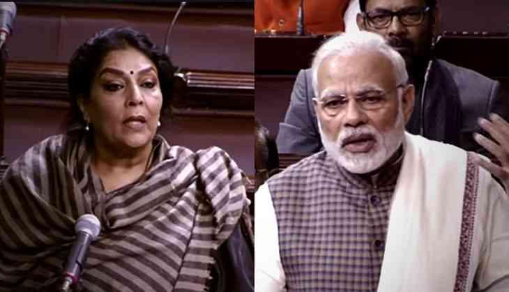 After Modi's jibe, trolls deface Renuka Chowdhury's Wiki page, calling her Shurpanakha