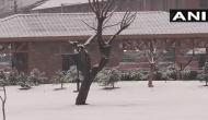 Snowfall, rain destroy houses In Jammu and Kashimr's Udhampur district