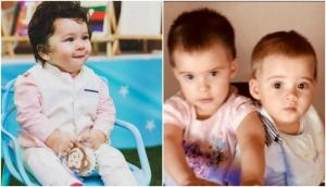Taimur Ali Khan and Yash's new picture by Karan Johar shows they both are future musicians