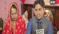 Muslim Parents gets adopted Hindu orphan married in his customs