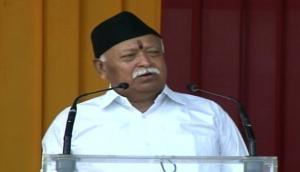 Mohan Bhagwat arrives in Gujarat ahead of RSS meeting