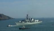 British frigate to sail through South China Sea