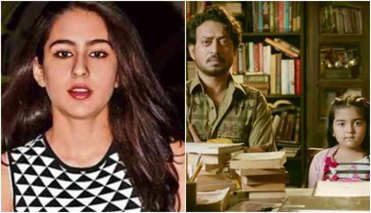 Sara Ali Khan to play Irrfan's daughter in Hindi Medium 2?