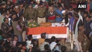 CRPF Jawan Mujahid Khan's Mortal remains laid to rest