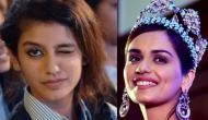 SENSATIONAL! 'National Crush' Priya Prakash Varrier beats 'Miss World' Manushi Chhillar and is all set to cross another milestone