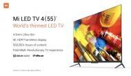 Xiaomi Mi TV 4: सबसे कम कीमत में दुनिया की सबसे पतली 4K Smart LED TV लॉन्च