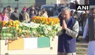 Wreath laying ceremony of Hawaldar Rakesh Raturi performed in Dehradun