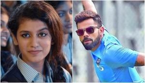Internet sensation Priya Prakash Varrier reveals the name of her favorite cricketer and no he's not Virat Kohli