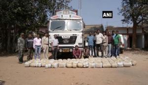 Smugglers arrested, drugs worth Rs. 1 crore seized in Chhattisgarh