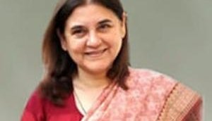 Maneka Gandhi uses abusive words for officer accused of corruption; Video goes viral