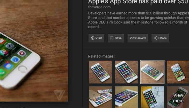 Google removes 'view image' button: Great for publishers, frustrating for users