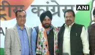 Congress welcomes back Arvinder Singh Lovely