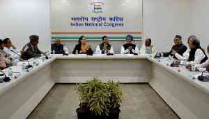 Congress steering committee announces plenary in March, targets Modi on PNB scam