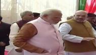 PM Modi arrives at new BJP headquarters