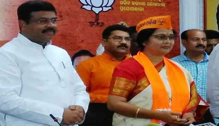 Odia actress Aparajita Mohanty joins BJP
