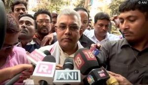 Dilip Ghosh threatens TMC leaders, suo motu case registered