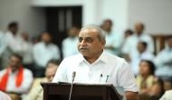 Gujarat Budget 2018: Nitin Patel presents Vijay Rupani government's first budget in Assembly; Opposition walks out