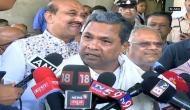 Narendra Modi unfit to continue as PM: Siddaramaiah