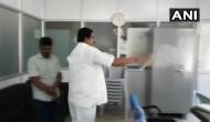Congress leader threatens to set BBMP office on fire