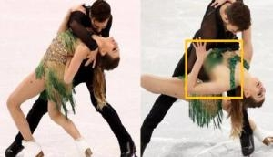 Winter Olympic 2018: This french ice skater faces weirdest wardrobe malfunctions; Video goes viral