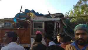 Speeding truck rams 3 houses, kills 8 in MP's Jabalpur