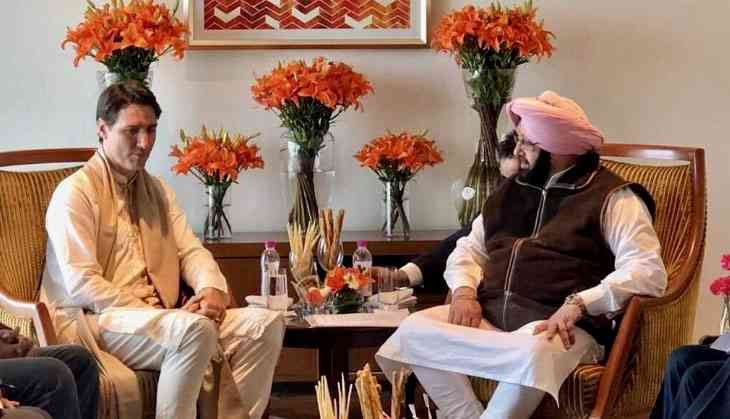 Punjabis snub Modi and Captain by giving Justin Trudeau a grand welcome