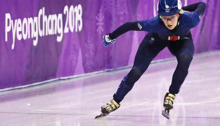 Elise Christie's momentous heartbreak at Winter Olympics