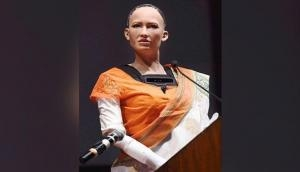 Shah Rukh Khan is my favourite actor, says world's first citizen Robot Sophia; see video