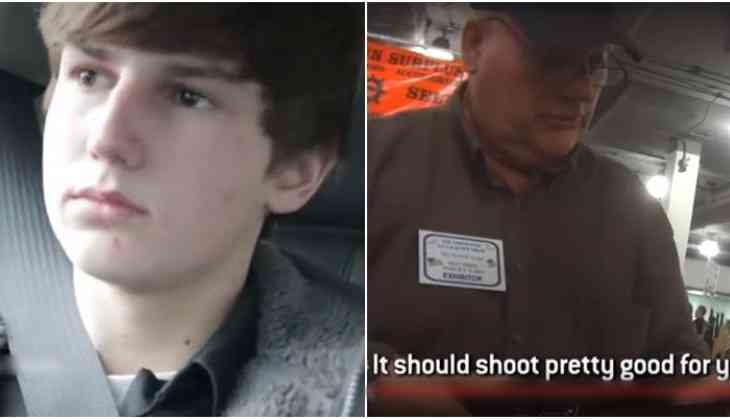 VIRAL: US teenager can't buy beer or cigarettes, but gets hands on gun easily