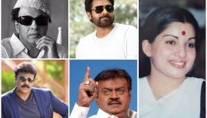 6 Tollywood megastars who made it big in politics before Kamal Hassan