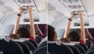 Woman dries her panty on AC vent of packed flight; video goes viral