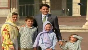 Trudeau arrives at Jama Masjid, avoids question on Khalistani terrorist invite