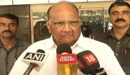 Bullet train project: Nobody will go to Ahmedabad, Mumbai will become overcrowded says Sharad Pawar