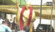Jayalalithaa's statue unveiled at AIADMK HQ