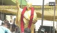 Birth Anniversary: Life-size bronze statue of Jayalalithaa unveiled