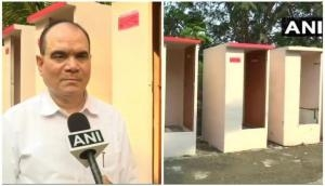 Pune man build toilets out of thermocol
