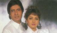 Sridevi Passed away; co-star Amitabh Bachchan already had an intuition