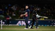 New Zealand vs England: आखिरी ओवर में छक्का लगाकर न्यूजीलैंड ने इंग्लैंड से छीना मैच